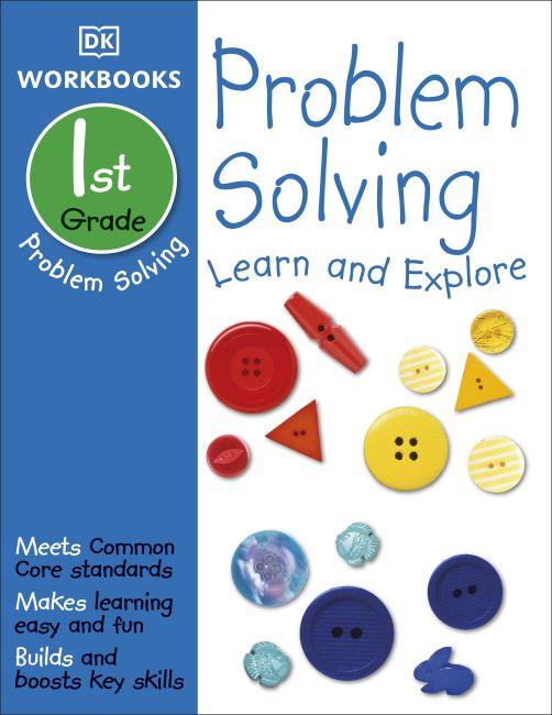 Paperback cover of DK Workbooks: Problem Solving, First Grade