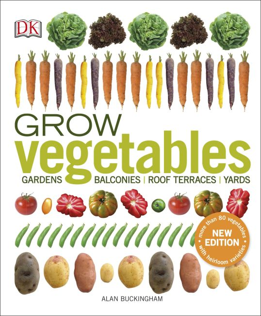 Paperback cover of Grow Vegetables