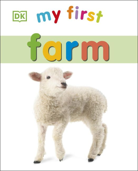 Board book cover of My First Farm