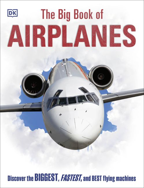 Hardback cover of The Big Book of Airplanes