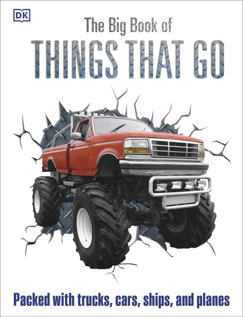 Hardback cover of The Big Book of Things That Go