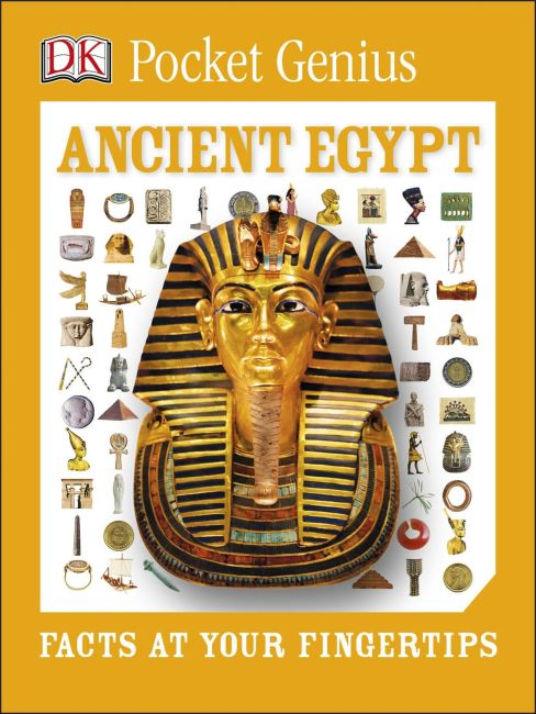 Paperback cover of Pkt Genius:Ancient Egypt