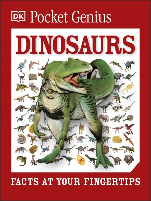 Paperback cover of Pocket Genius Dinosaurs