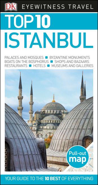 Paperback cover of DK Eyewitness Top 10 Istanbul