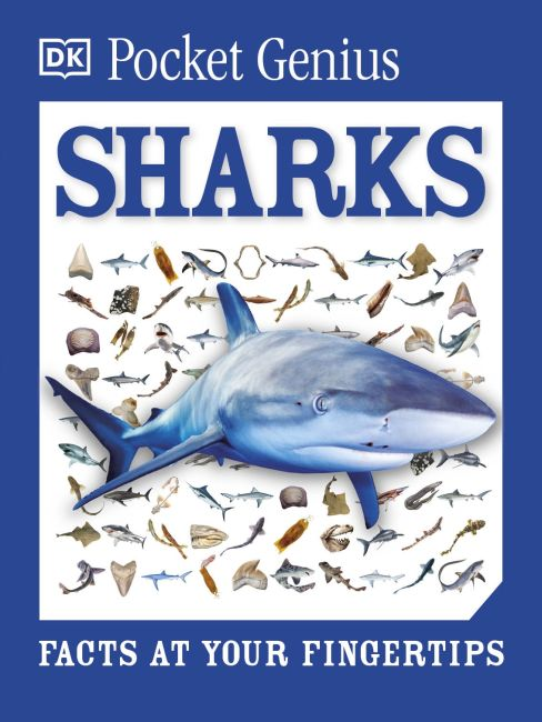 Paperback cover of Pocket Genius: Sharks