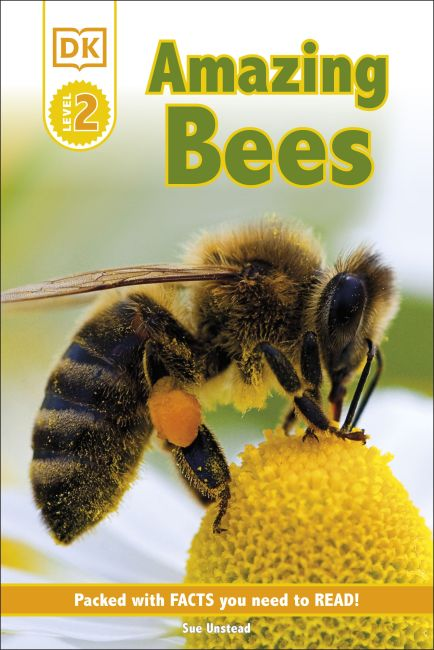 Hardback cover of DK Readers L2: Amazing Bees