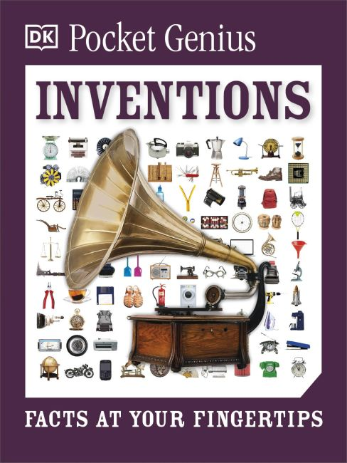 Paperback cover of Pocket Genius: Inventions