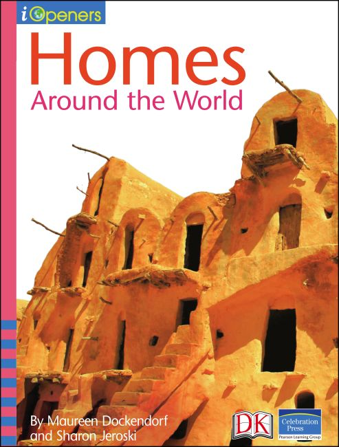 eBook cover of iOpener: Homes Around the World