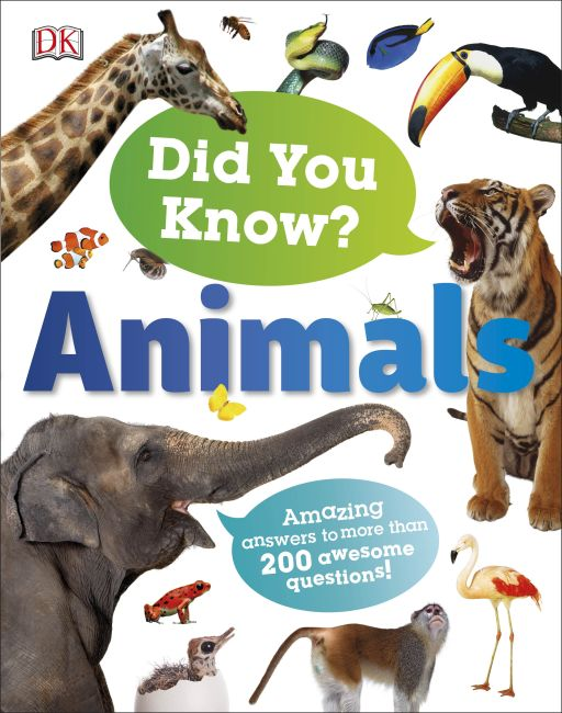 Hardback cover of Did You Know? Animals