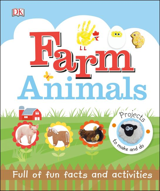 Hardback cover of Farm Animals