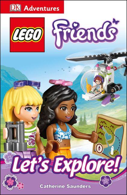 eBook cover of DK Adventures: LEGO FRIENDS: Let's Explore!