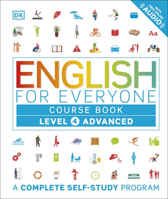 Hardback cover of English for Everyone: Level 4: Advanced, Course Book