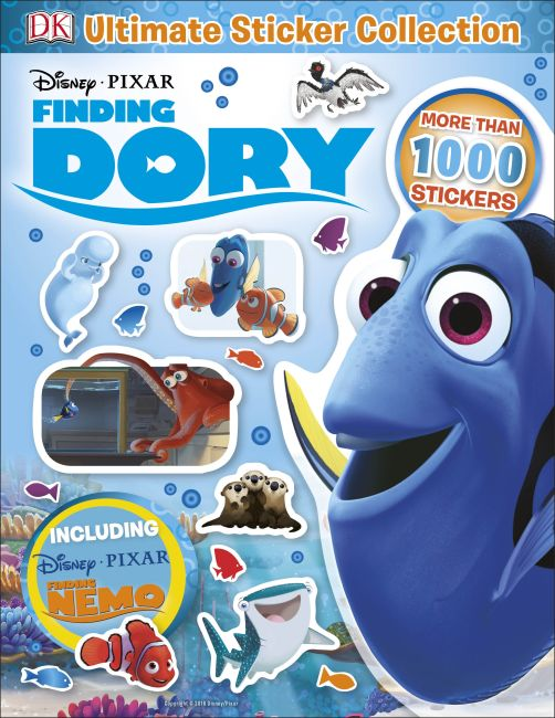 Paperback cover of Ultimate Sticker Collection: Disney Pixar Finding Dory