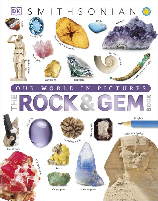 Hardback cover of The Rock and Gem Book