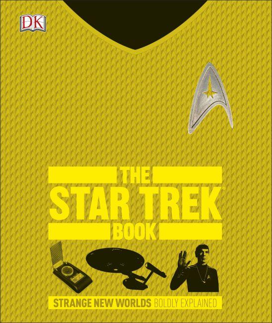 Hardback cover of The Star Trek Book
