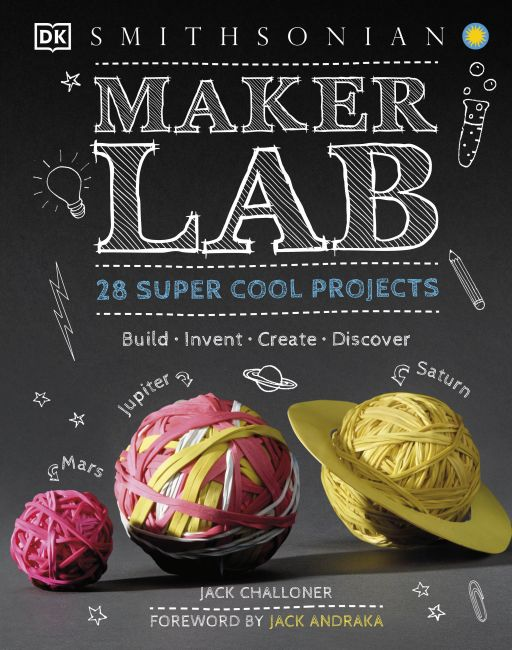 Hardback cover of Maker Lab
