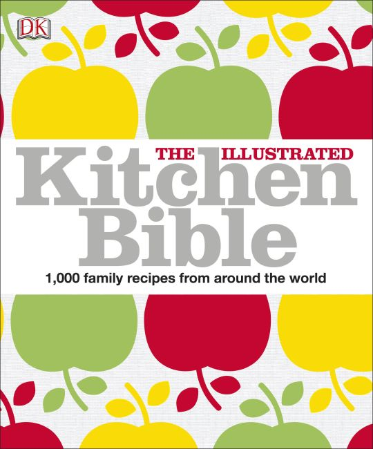 Paperback cover of The Illustrated Kitchen Bible