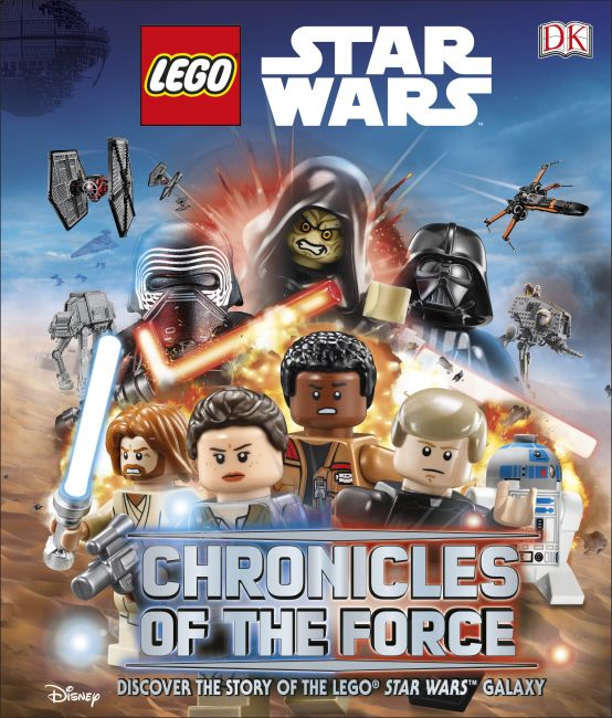 Hardback cover of LEGO Star Wars: Chronicles of the Force (LIbrary Edition)