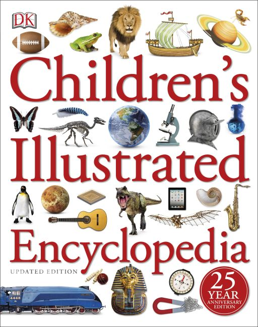 Hardback cover of Children's Illustrated Encyclopedia