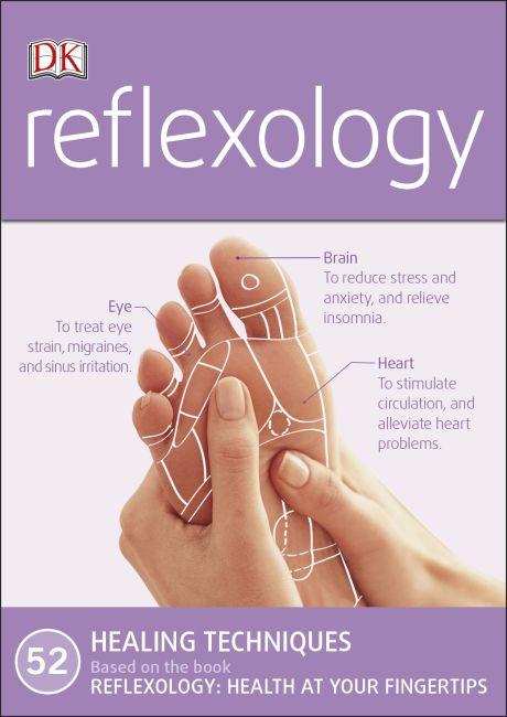 Paperback cover of Reflexology Deck