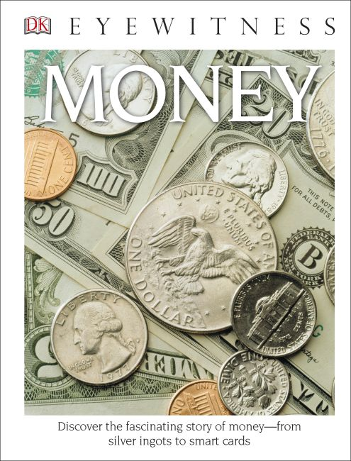 Hardback cover of DK Eyewitness Books: Money