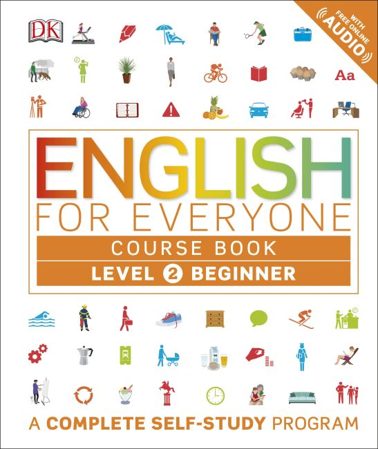 Paperback cover of English for Everyone: Level 2: Beginner, Course Book