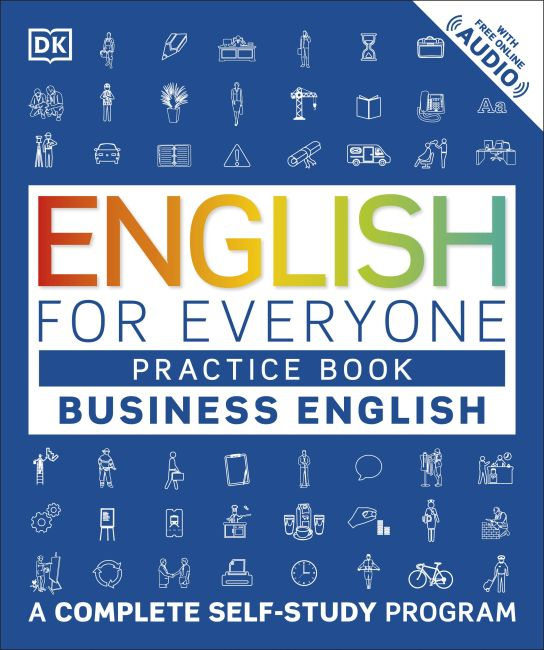 Paperback cover of English for Everyone: Business English, Practice Book
