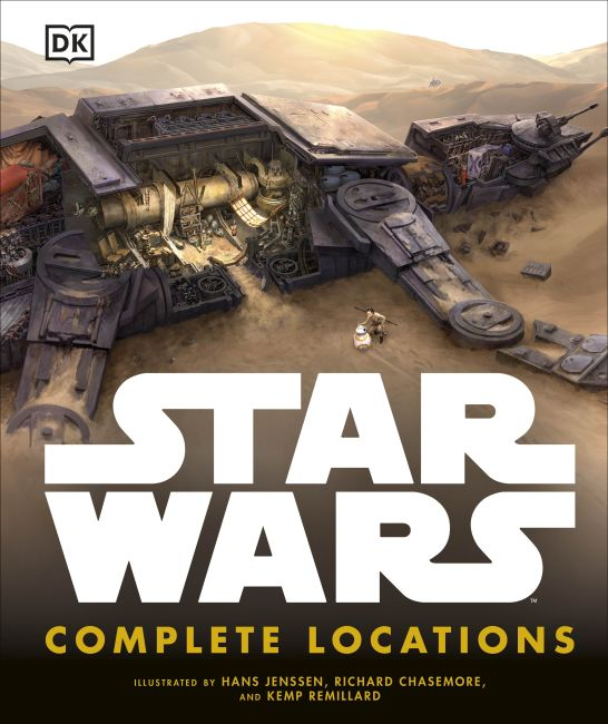 Hardback cover of Star Wars: Complete Locations