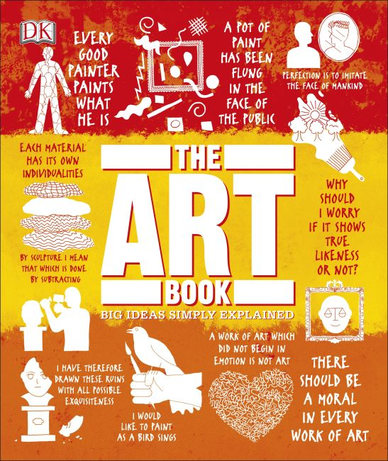 Hardback cover of The Art Book