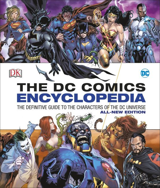 Hardback cover of DC Comics Encyclopedia All-New Edition
