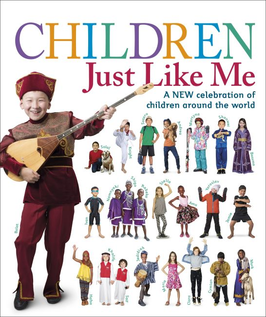 Hardback cover of Children Just Like Me