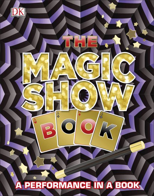 Hardback cover of The Magic Show Book