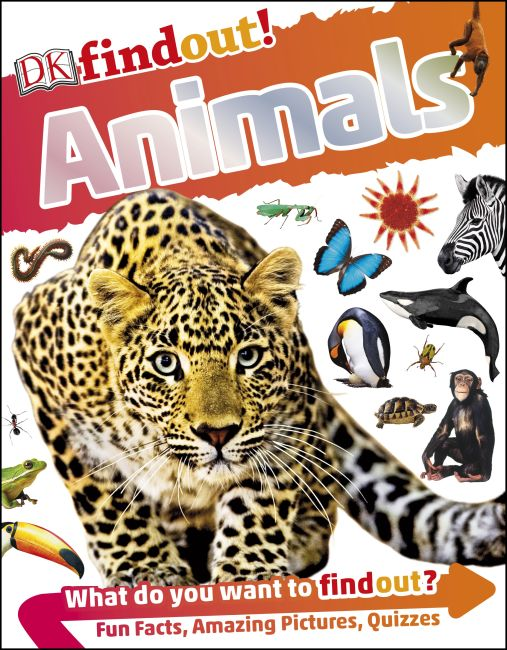 Paperback cover of DKfindout! Animals