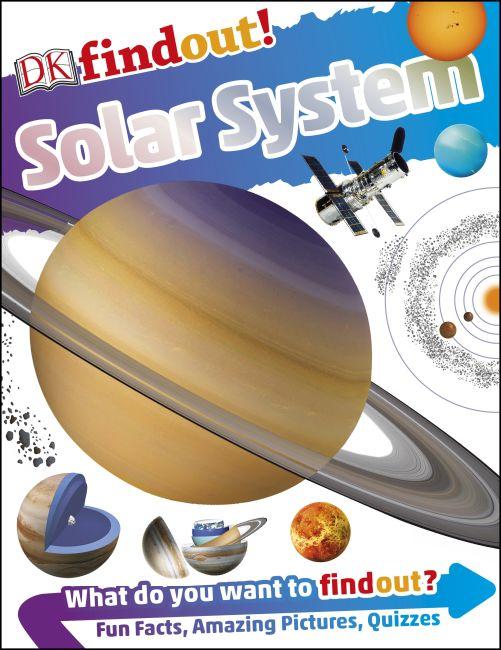 Paperback cover of DKfindout! Solar System