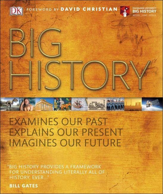 Hardback cover of Big History
