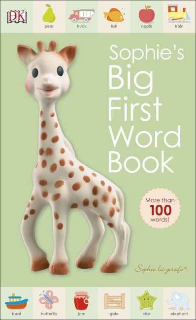 eBook cover of Sophie la girafe: Sophie's Big First Word Book