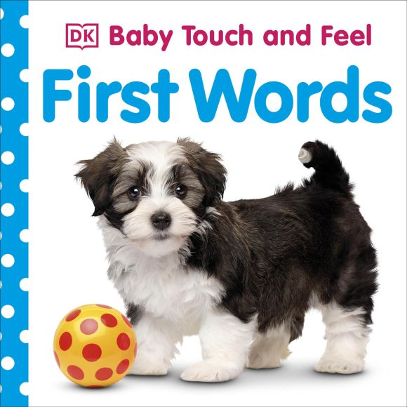 Board book cover of Baby Touch and Feel: First Words