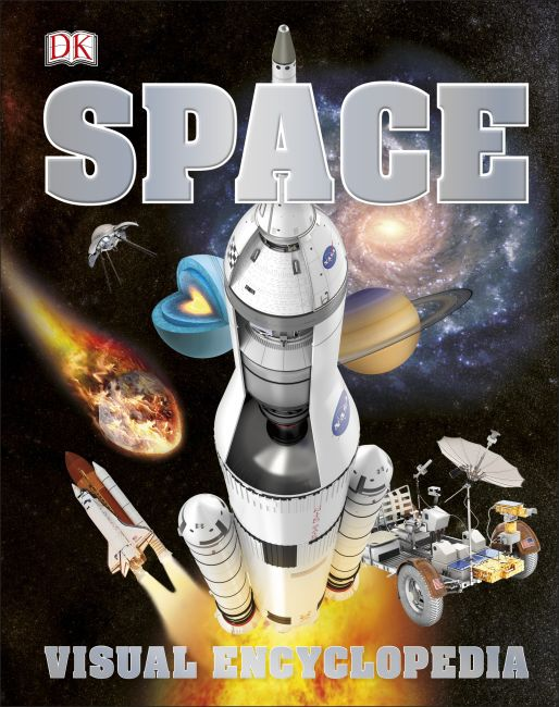 Hardback cover of Space Visual Encyclopedia