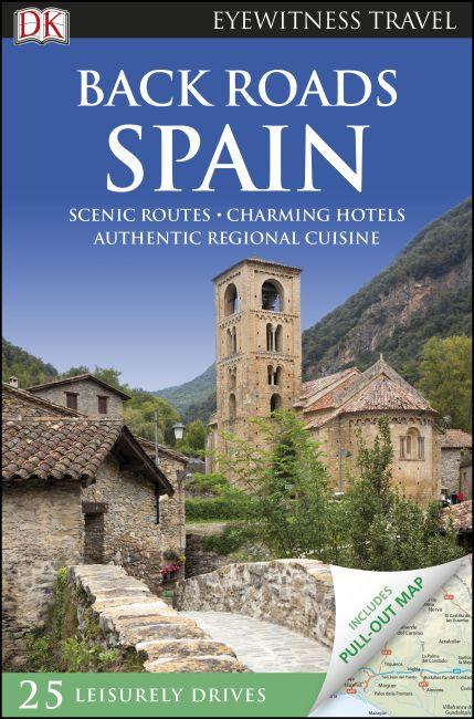 eBook cover of DK Eyewitness Back Roads Spain