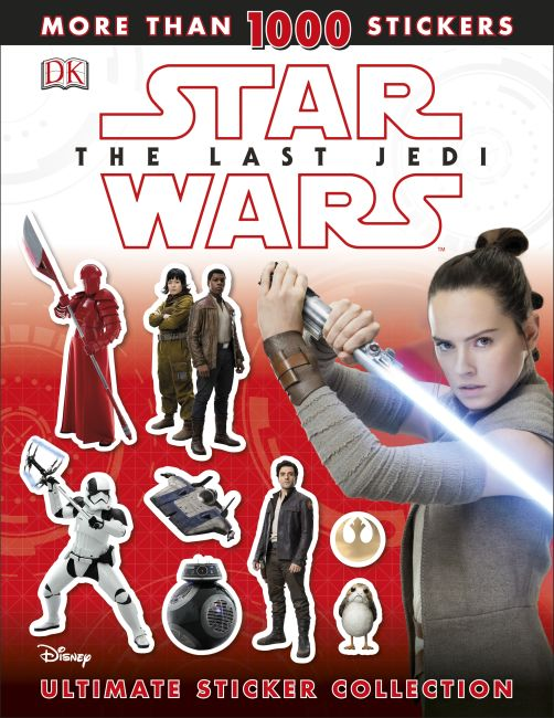 Paperback cover of Star Wars The Last Jedi  Ultimate Sticker Collection