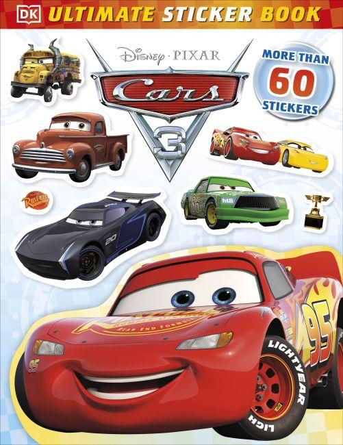 Paperback cover of Ultimate Sticker Book: Disney Pixar Cars 3