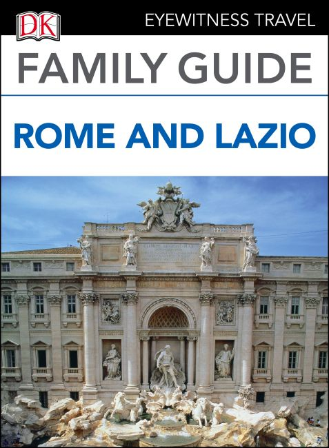 eBook cover of DK Eyewitness Family Guide Rome and Lazio