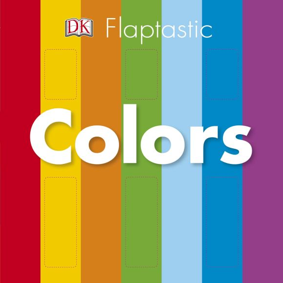 Board book cover of Flaptastic: Colors