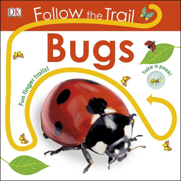 Board book cover of Follow the Trail: Bugs