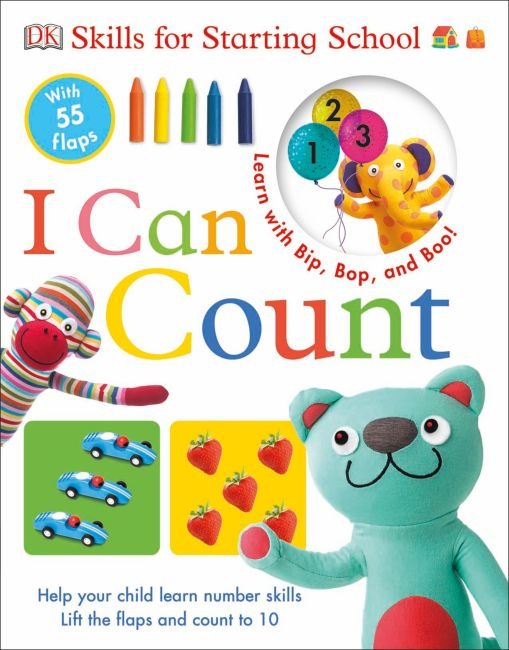 Board book cover of Skills for Starting School I Can Count