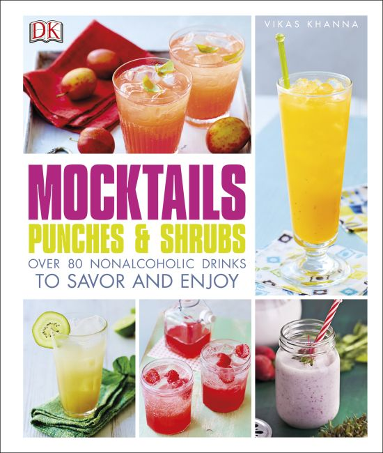 Hardback cover of Mocktails, Punches, and Shrubs
