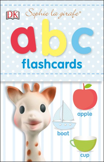 Paperback cover of Sophie la girafe: ABC Flashcards