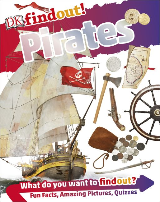 Paperback cover of DKfindout! Pirates