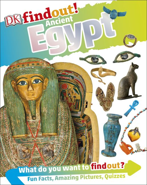 Paperback cover of DKfindout! Ancient Egypt