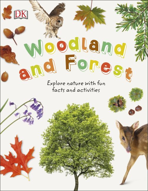 Hardback cover of Woodland and Forest